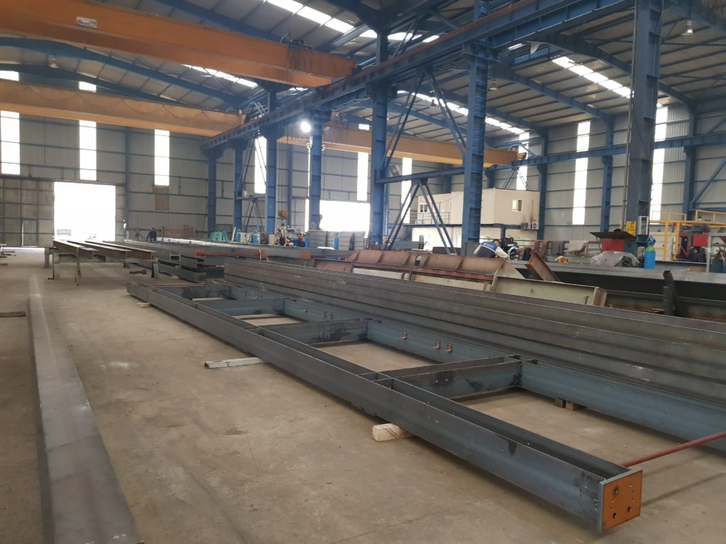 Galvanised Structural Steel Racks Manufacturing