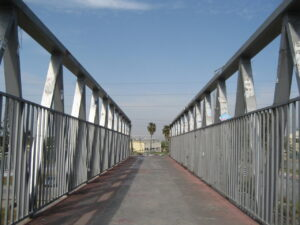 Footbridges Manufacturing by Using Structural Steel