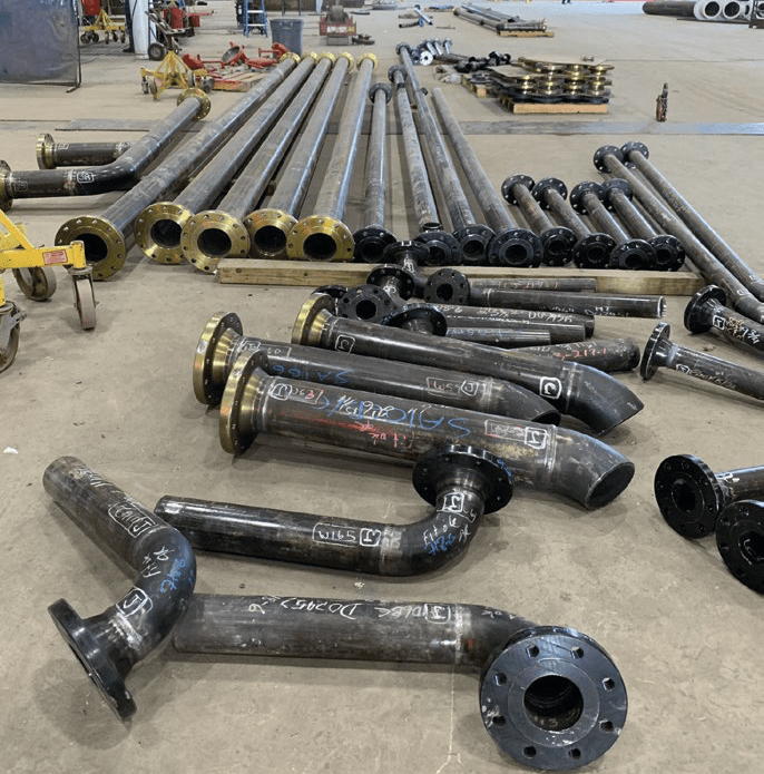 Pipe Spools Fabrication NGL Terminal