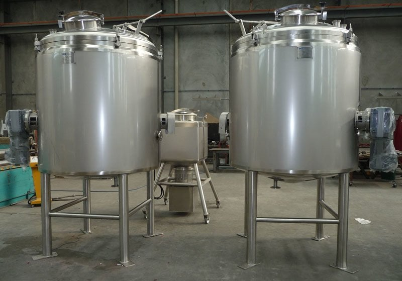 An example of pressure vessels