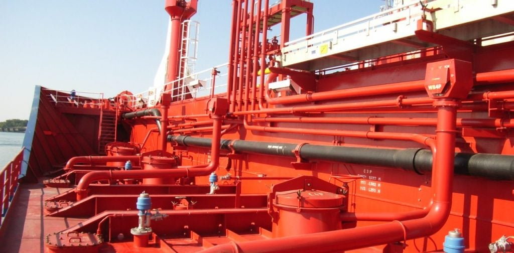 Schiffs-Rohrleitungen
