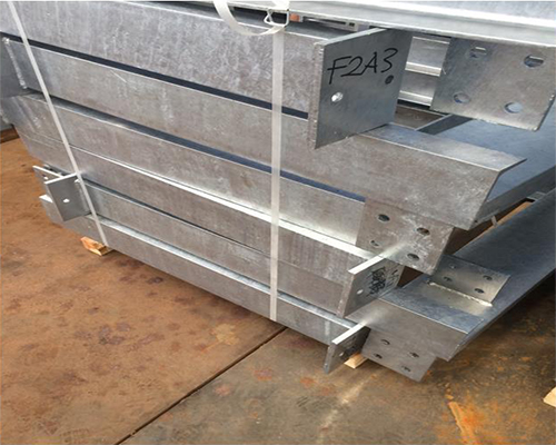 Fabrication of Steel Pipe Supports - Handrails - Stairs