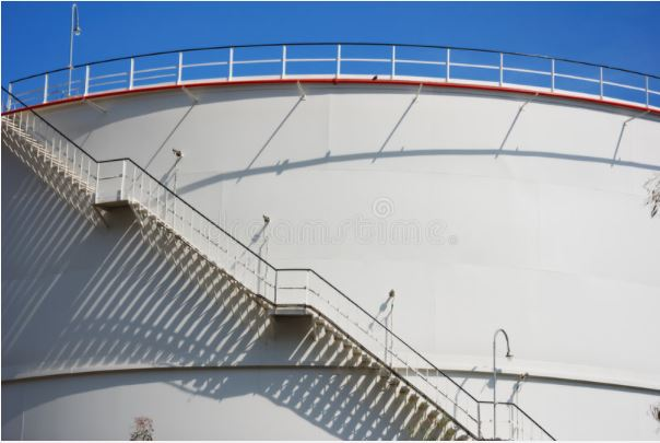 The function of industrial stairs in the oil tanks