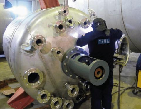 Chemischer Reaktor Rührwerk Mixer Tank
