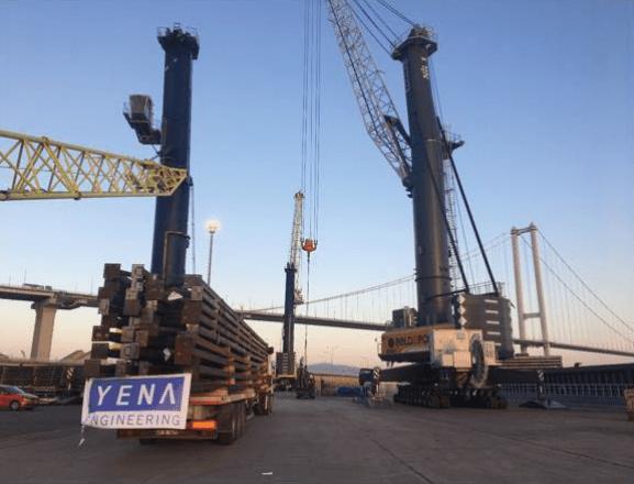 Herstellung von Stahlfachwerkkonstruktionen