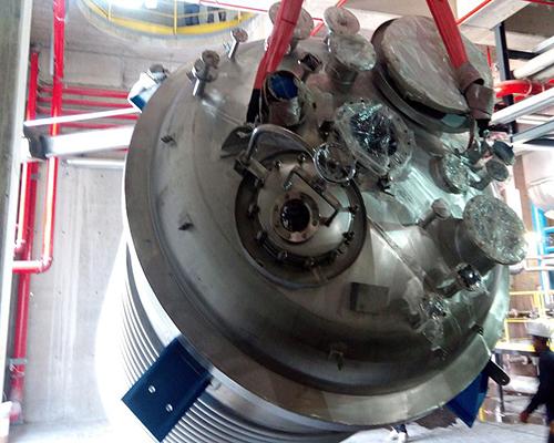 Chemical Reactor Agitator Mixer Tank