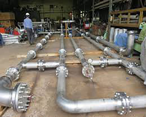 Pipe Spools and Supports Fabrication