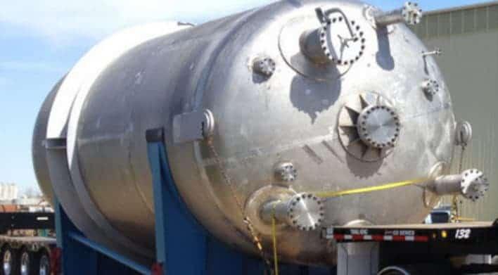 Roestvrijstalen stikstoftank, ASME Ustempel is vereist voor producten zoals deze